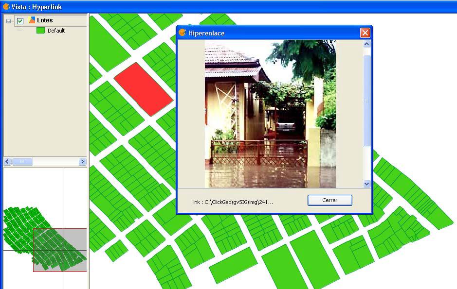 Criação de Hiperlink no gvSIG