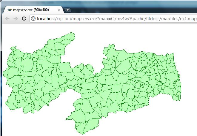 Estabelecer Conexão entre MapServer e PostGIS