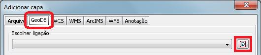 Adicionar Capa - GeoDB
