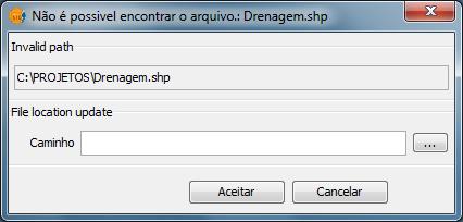 Erro: Arquivo não encontrado