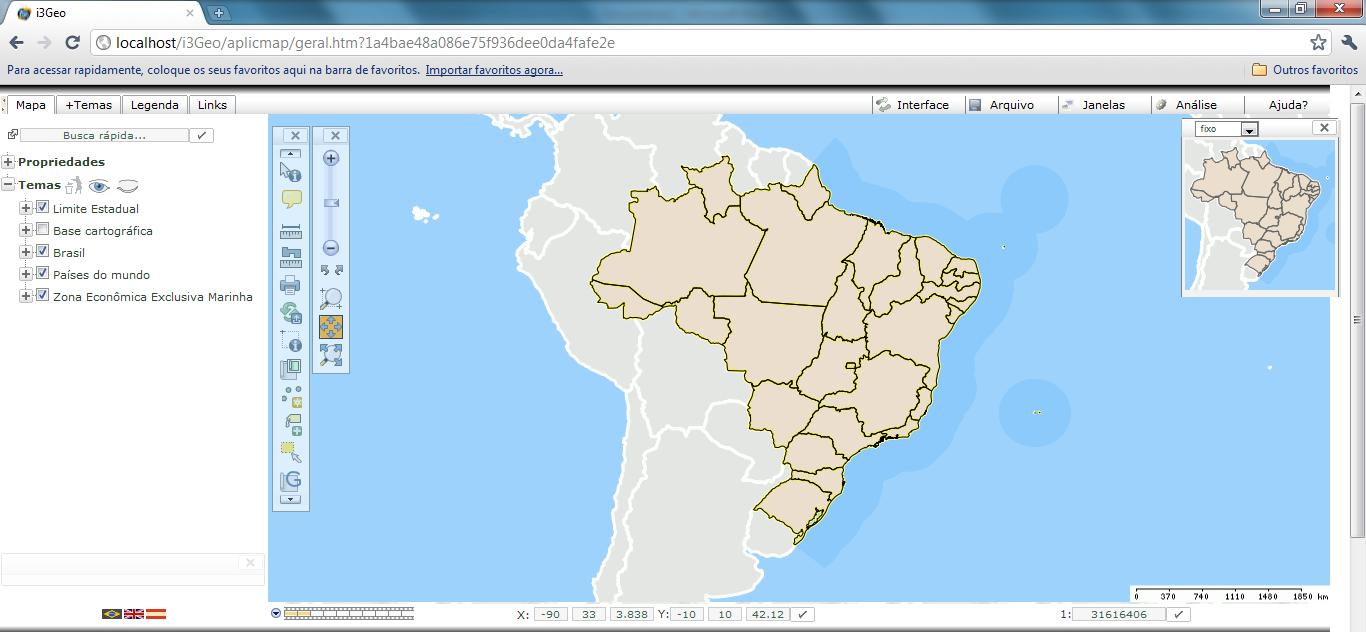 Mapa de Exemplo