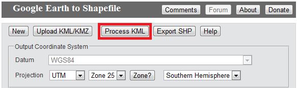 Process KML
