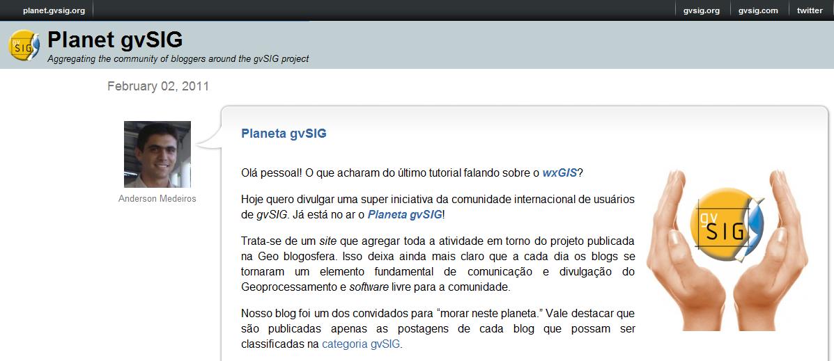 Planeta gvSIG
