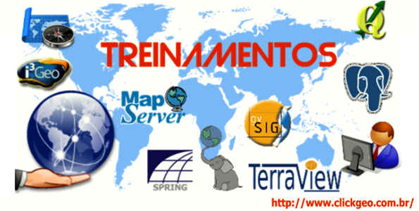 Treinamentos em Geotecnologias com Software Livre
