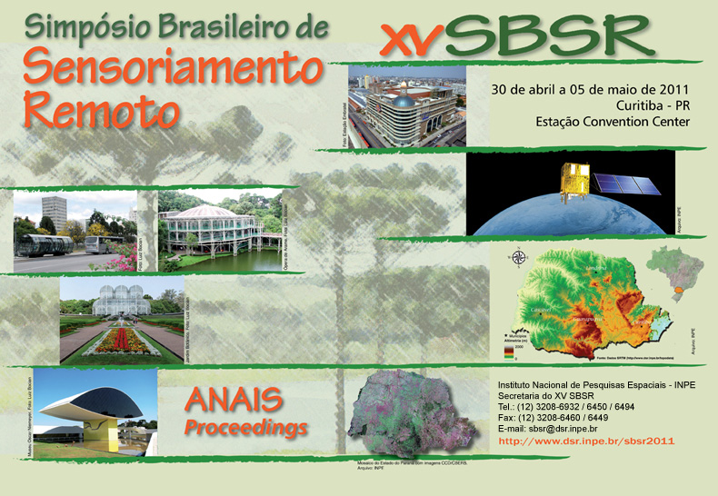 XV Simpósio Brasileiro de Sensoriamento Remoto - SBSR