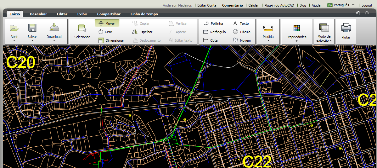 Explore o Projeto AutoCAD WS (AutoCAD 360)