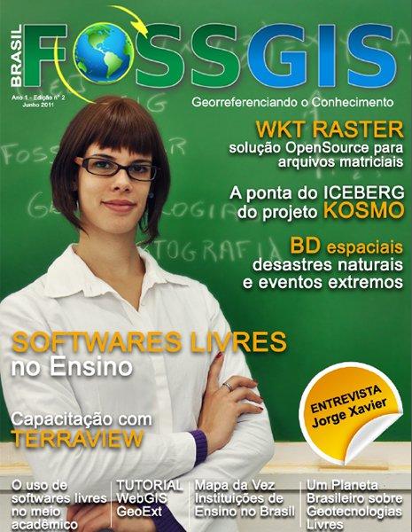 Lançada Edição N° 2 da Revista FOSSGIS Brasil