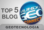 TOP 5 - Melhor Blog sobre Geotecnologias - MundoGeo#Connect