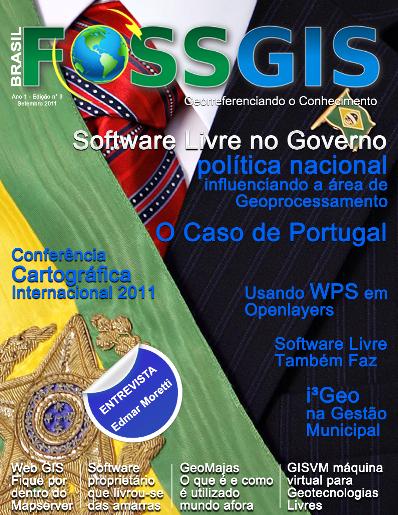 Revista FOSSGIS Brasil: Edição N° 3 | Softwares Livres no Governo