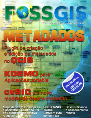 Revista FOSSGIS Brasil: Edição N° 4   Metadados