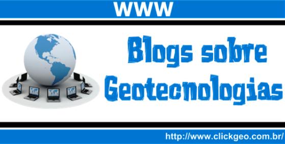Coletânea de Blogs sobre Geotecnologias