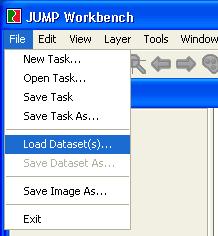Carregar Dados no JUMP