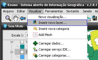 Inserir Novo layer...