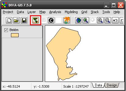 Diva-GIS: Criar Shapefile